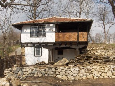 Traditional Bulgarian house