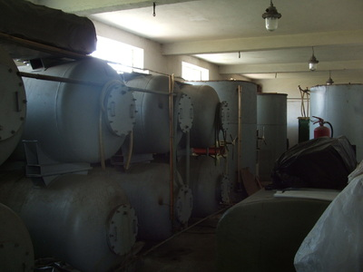 factory for producing of cooking oil and bio-diesel