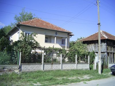 Sunny village house