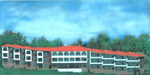 семьи борт-дом с образовательного центра